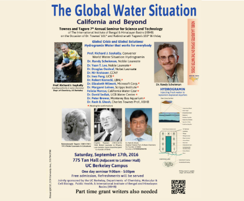 The Global Water Situation: California and Beyond